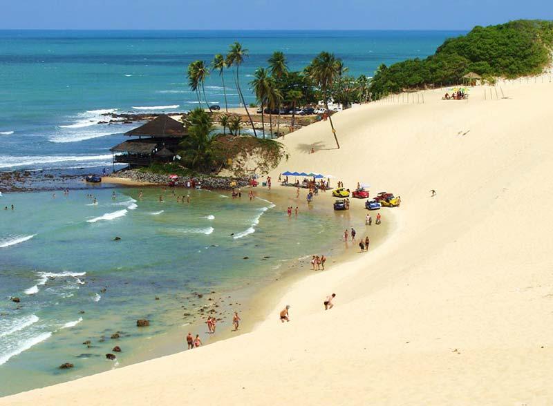Praias litoral norte - Genipabu